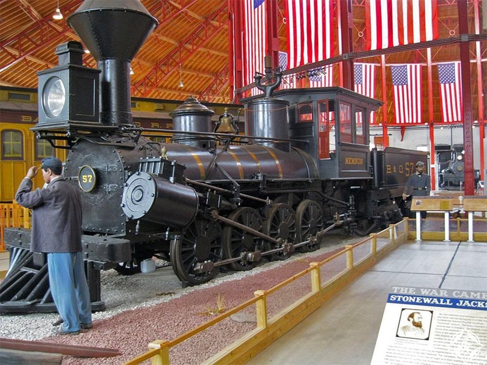 ماريلاند - متحف بالتيمور وأوهايو للسكك الحديدية