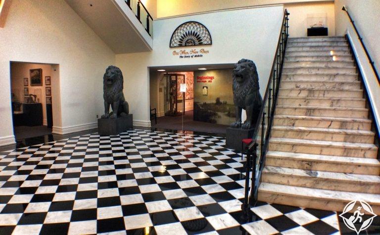 متحف التاريخ - المعالم السياحية في موبايل الأمريكية