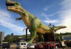 معالم الجذب السياحي في درومهيلر - أكبر ديناصور في العالم