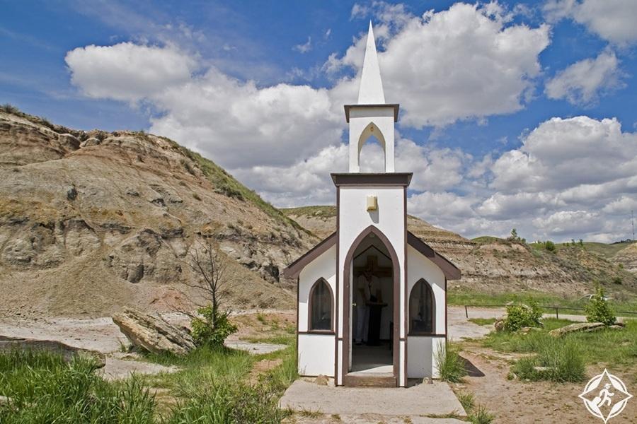 معالم الجذب السياحي في درومهيلر - الكنيسة الصغيرة