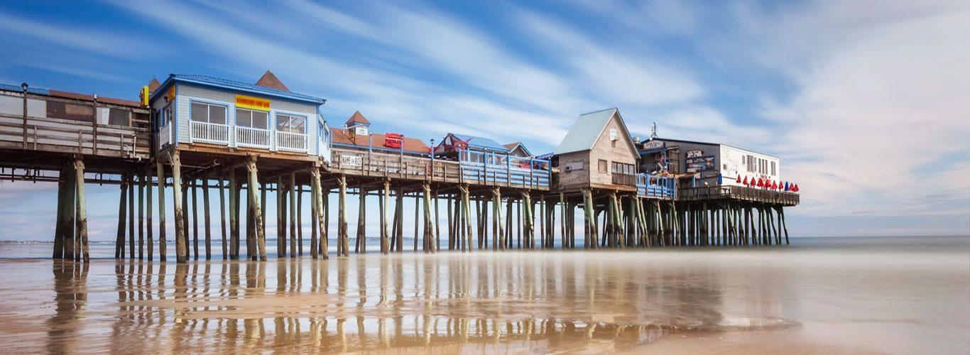 الولايات المتحدة الأمريكية - شاطئ أولد أورشارد- ماين