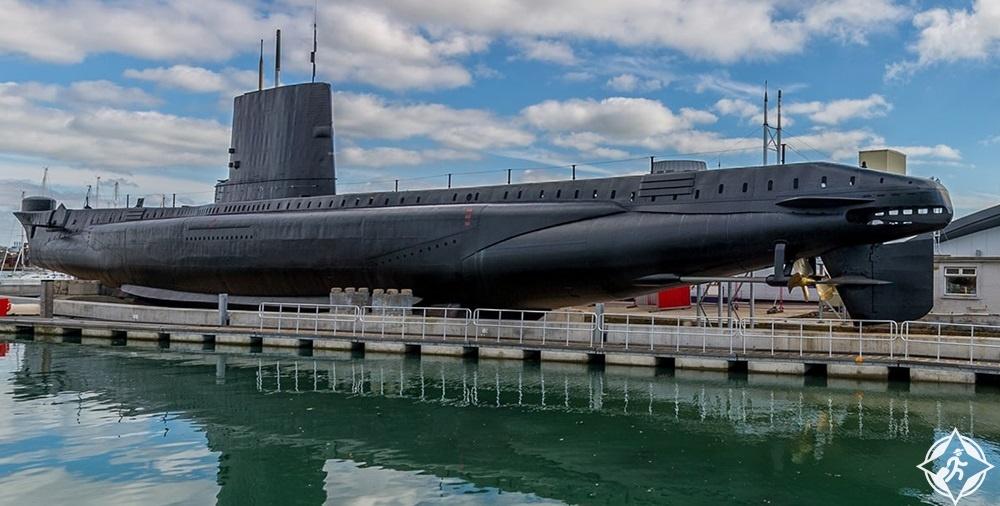 بورتسموث - متحف غواصة القوات البحرية 3