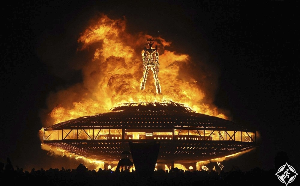 نيفادا - مهرجان الرجل المحترق