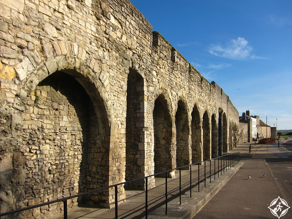 ساوثامبتون - أسوار المدينة في العصور الوسطى