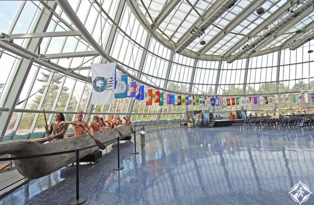 متحف ومركز أبحاث ماشانتاكيت بيكوت-الولايات المتحدة الأمريكية-كونيتيكت