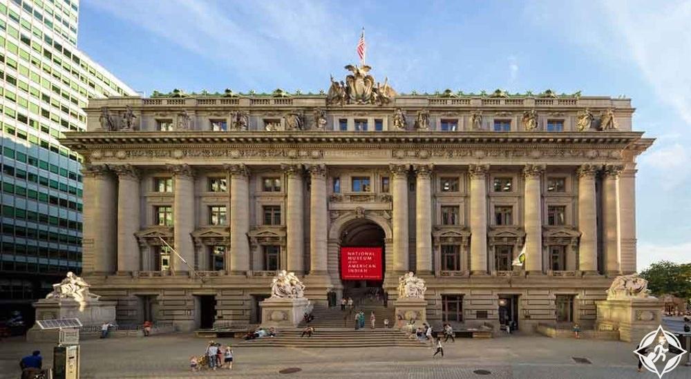 نيويورك - المتحف الوطني للهنود الأميركيين