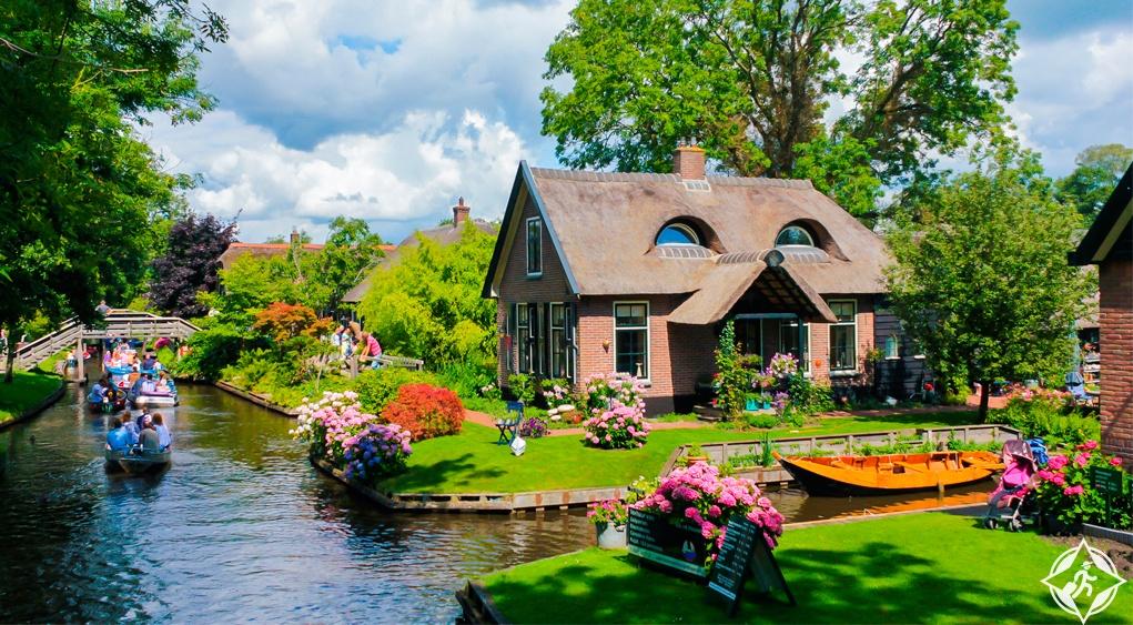 أفضل التجارب السياحية في قرية جيثورن الهولندية