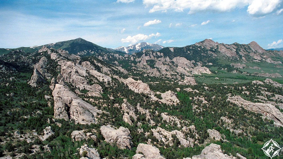 محمية مدينة الصخور الوطنية-الولايات المتحدة الأمريكية-ايداهو
