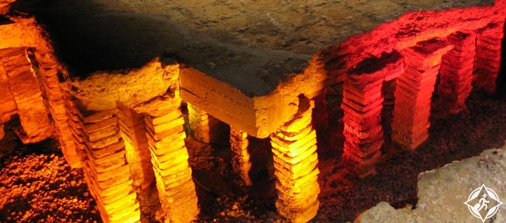 بادن بادن - أطلال حمام الروماني