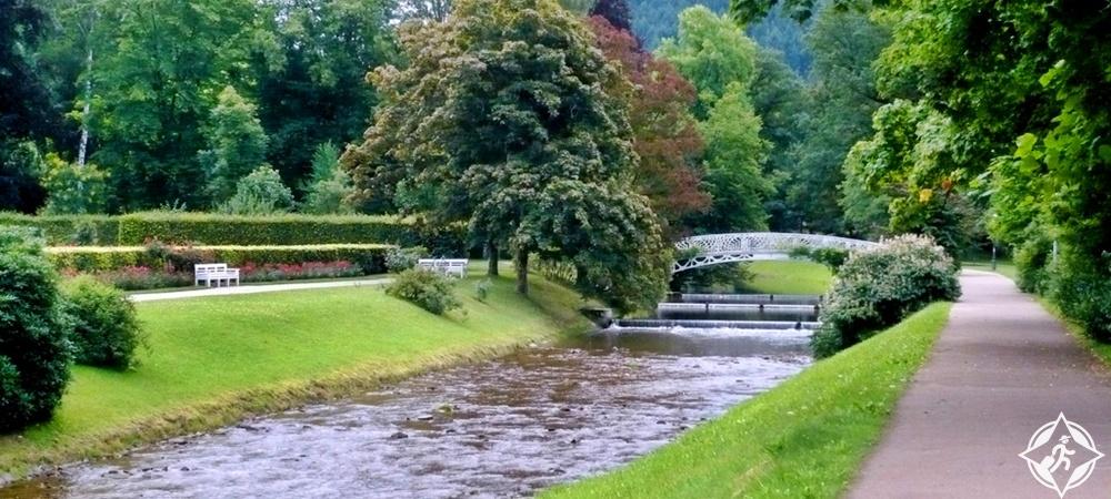 بادن بادن - حديقة ليتشينتالر ألي