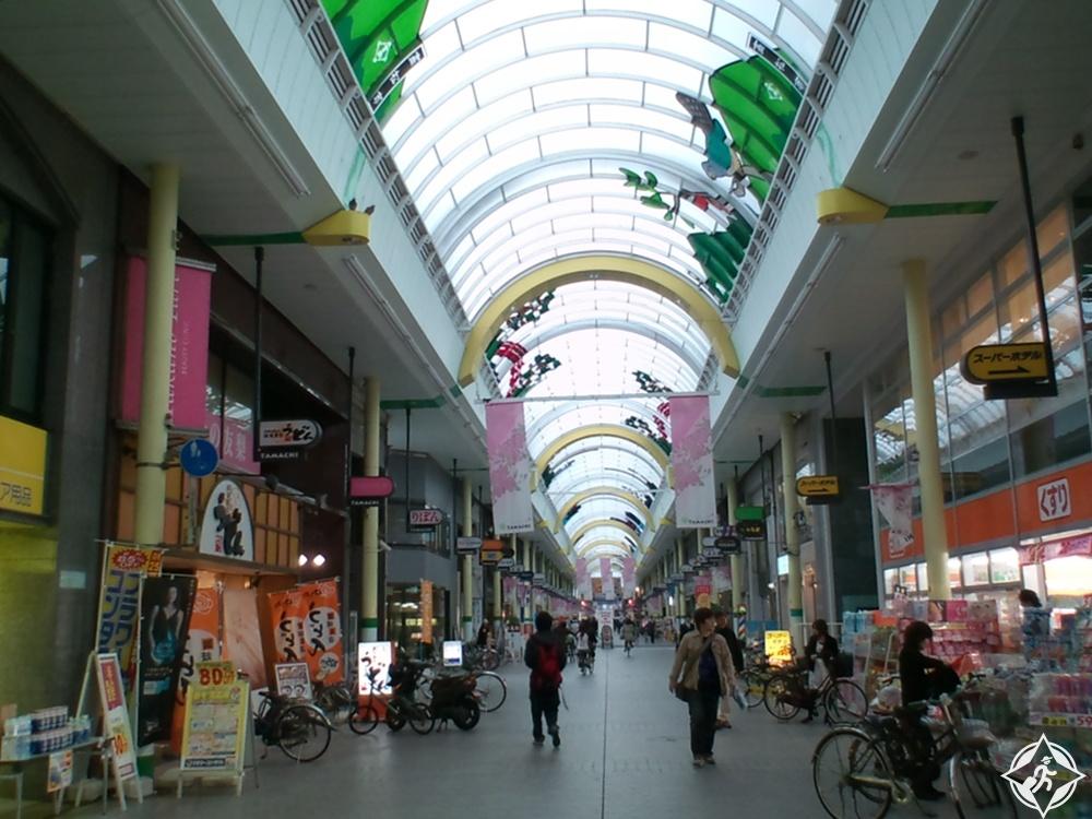 تاكاماتسو - التسوق