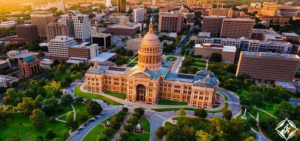 تكساس - مبنى الكابيتول بولاية تكساس