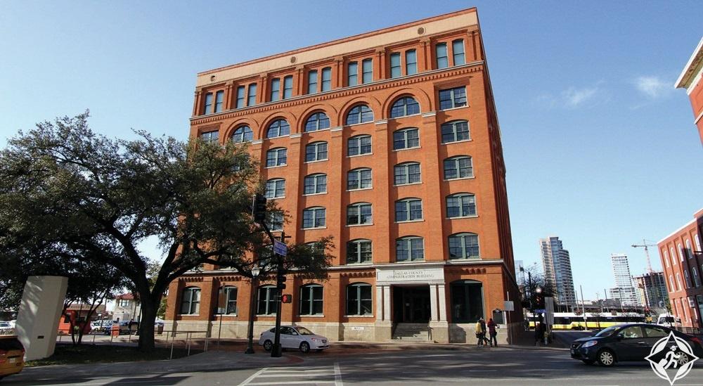 تكساس - متحف الطابق السادس
