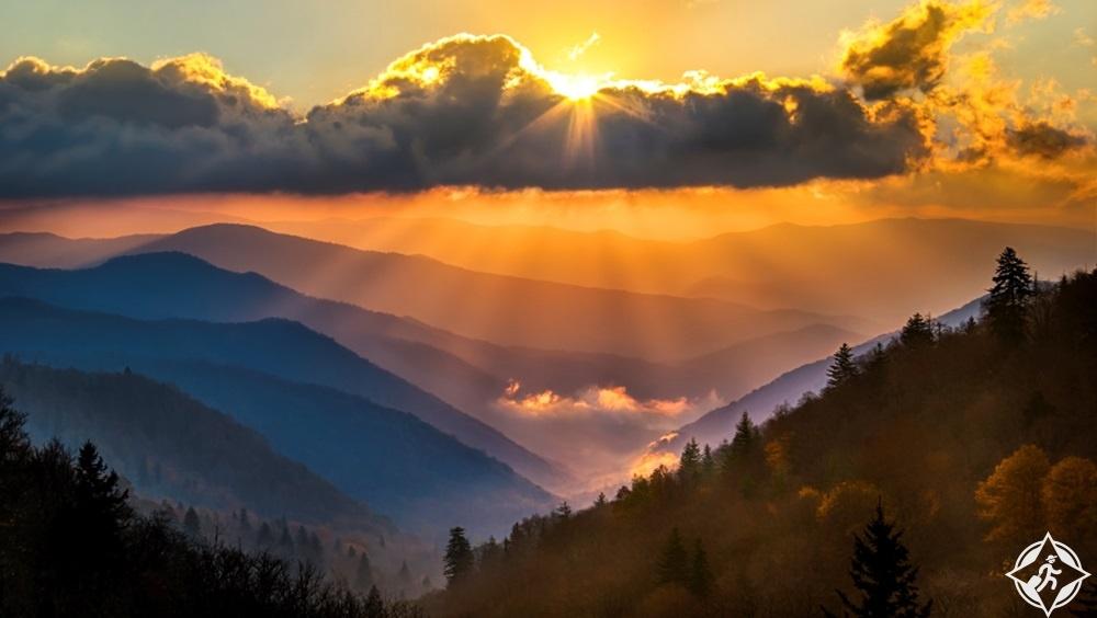 تينيسي - حديقة جبال سموكي العظيمة الوطنية