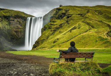 جنوب أيسلندا - شلال سكوغافوس