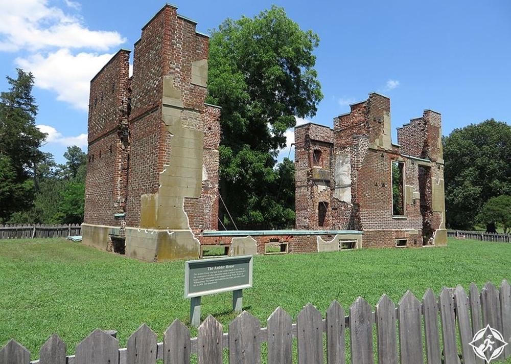 فرجينيا - متنزه المستعمرة التاريخي الوطني