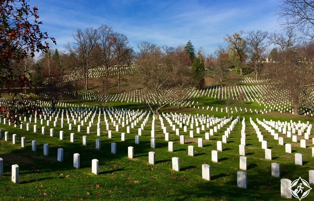 فرجينيا - مقبرة أرلينغتون الوطنية