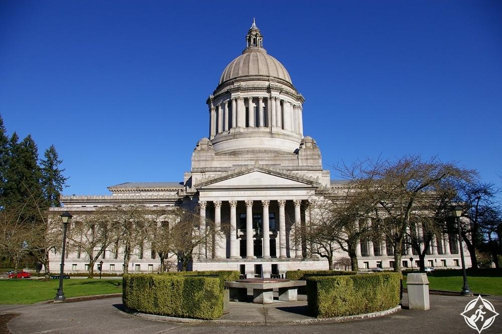 واشنطن - مبنى كابيتول ولاية واشنطن