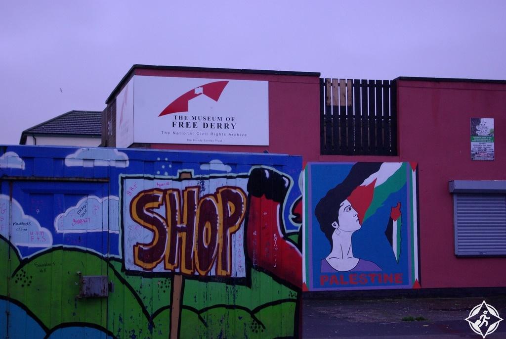 إيرلندا الشمالية-متحف ديري الحر-مدينة ديري
