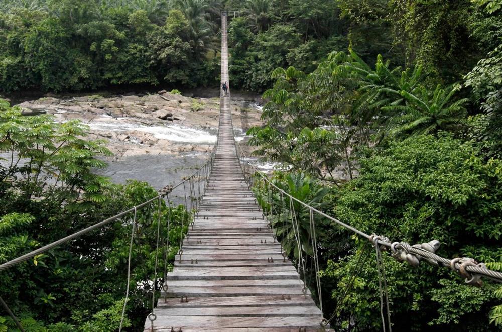 الكاميرون - حديقة كورب الوطنية