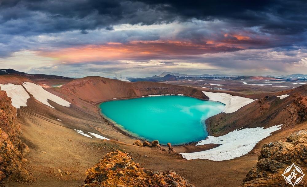بحيرة ميفاتن-شمال ايسلندا