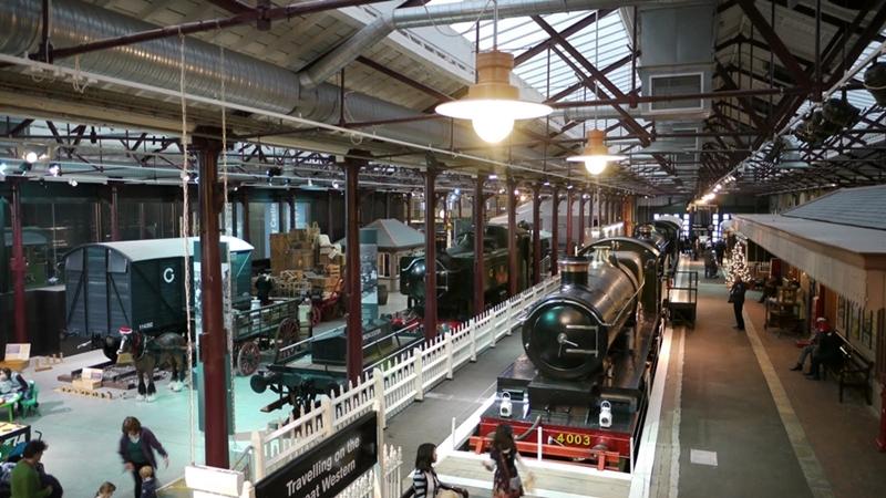 سويندون - متحف السكك الحديدية الغربية الكبرى