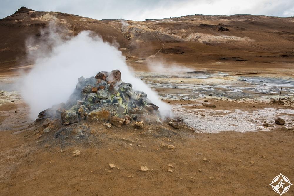 محيط ينابيع الكبريت-شمال ايسلندا