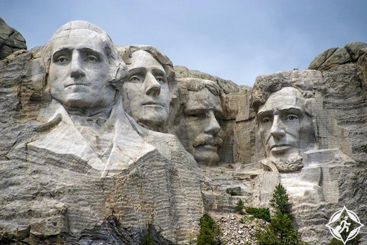 نصب جبل رشمور التذكاري-الولايات المتحدة الأمريكية-داكوتا الجنوبية