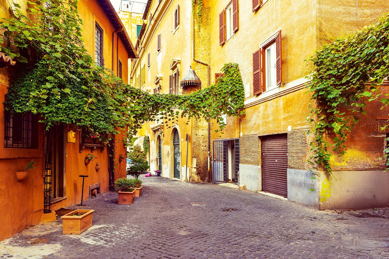 روما في الصيف