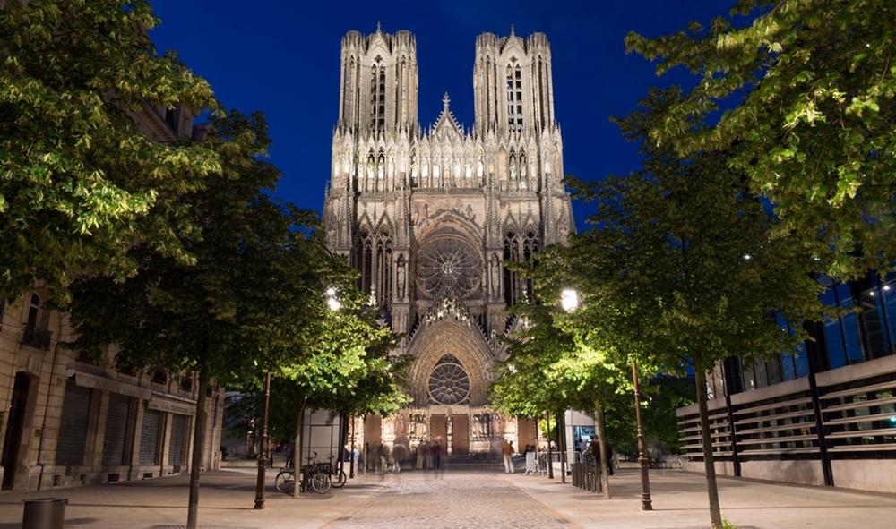 ريمس - كاتدرائية نوتردام ريمس