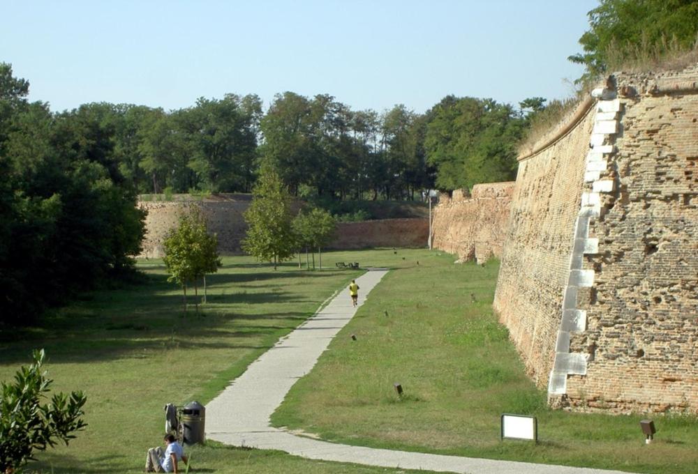 فيرارا - جدران المدينة