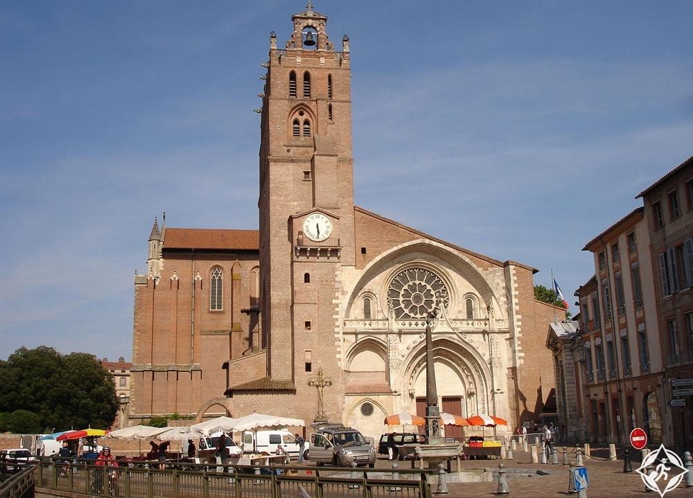 تولوز - كاتدرائية سانت إتيان