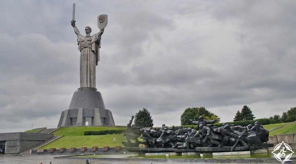 كييف - نصب الوطن الأم