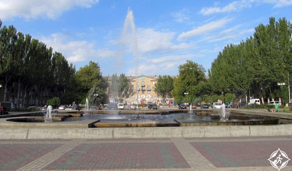 زاباروجيا - ساحة زابوريجكا