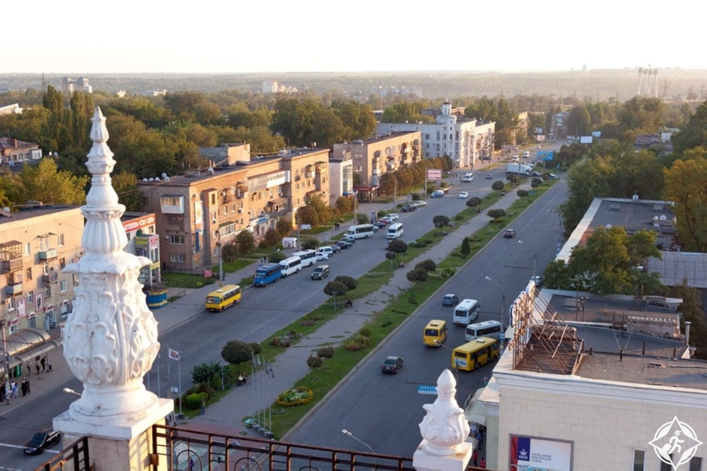 زاباروجيا - شارع الكاتدرائية