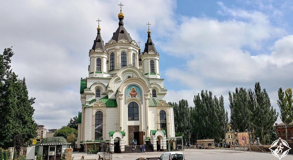 زاباروجيا - كاتدرائية الحماية المقدسة
