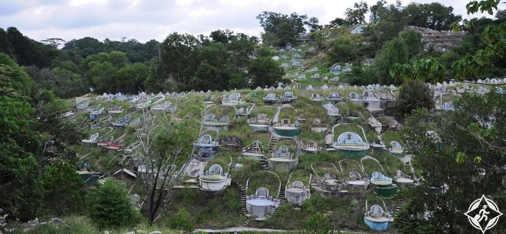 سانداكان - المقبرة الصينية