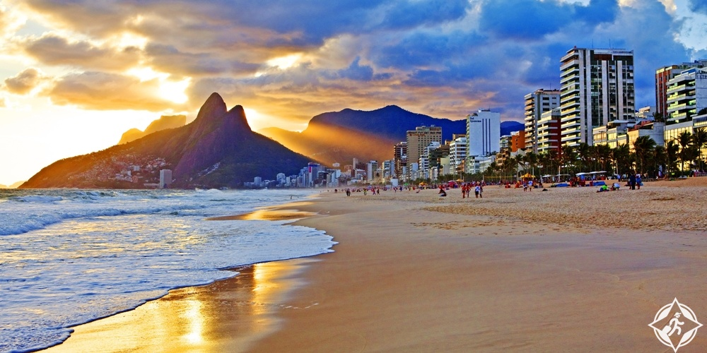 شواطئ البرازيل - شاطئ ايبانيما