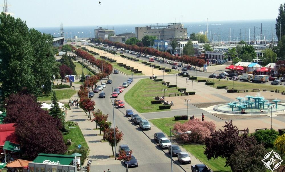 غدينيا - ساحة كوسيوسكو