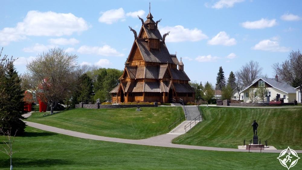 داكوتا الشمالية - الحديقة الاسكندنافية التراثية