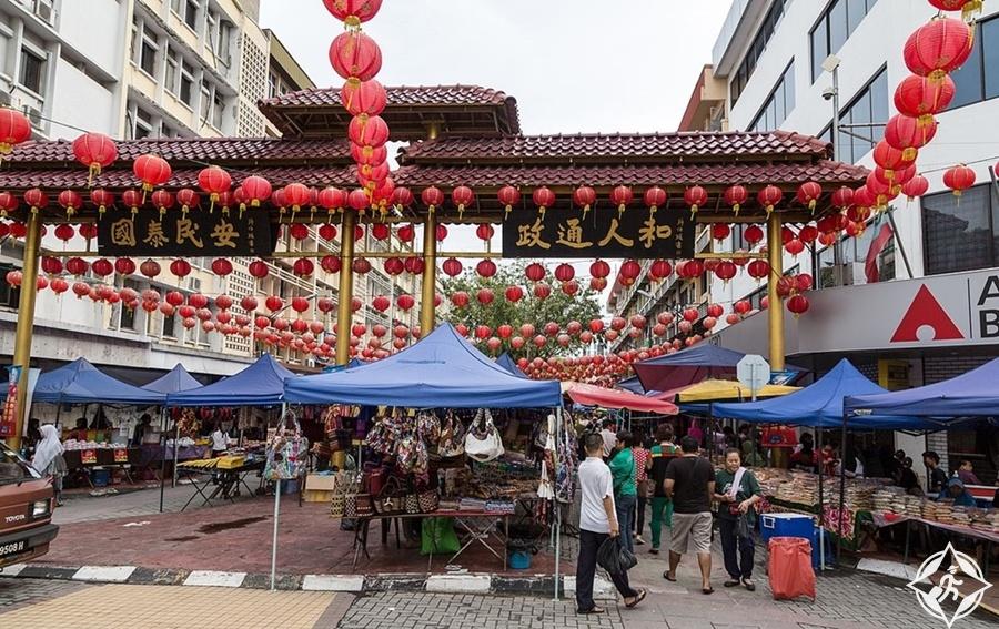 كوتا كينابالو - الحي الصيني
