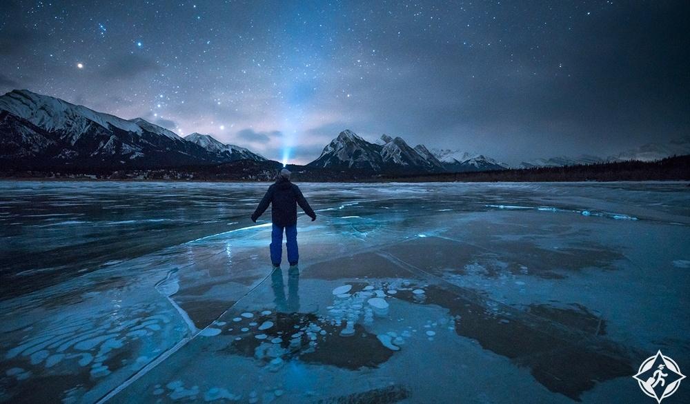 البحيرات في كندا - بحيرة ابراهام