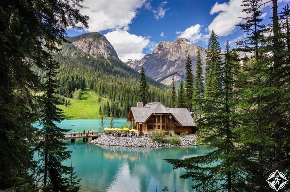 البحيرات في كندا - بحيرة الزمرد