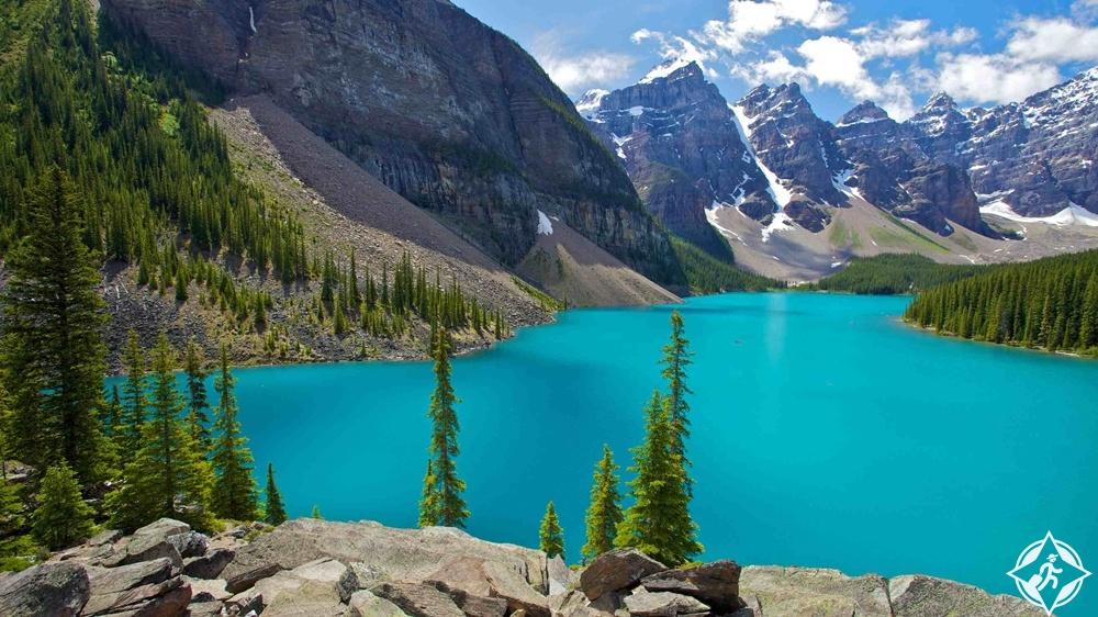 البحيرات في كندا - بحيرة لويز