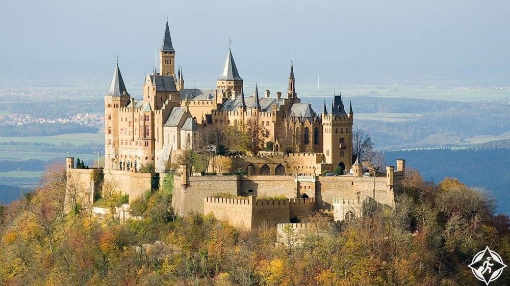 القلاع في ألمانيا - قلعة هوهنزولرن
