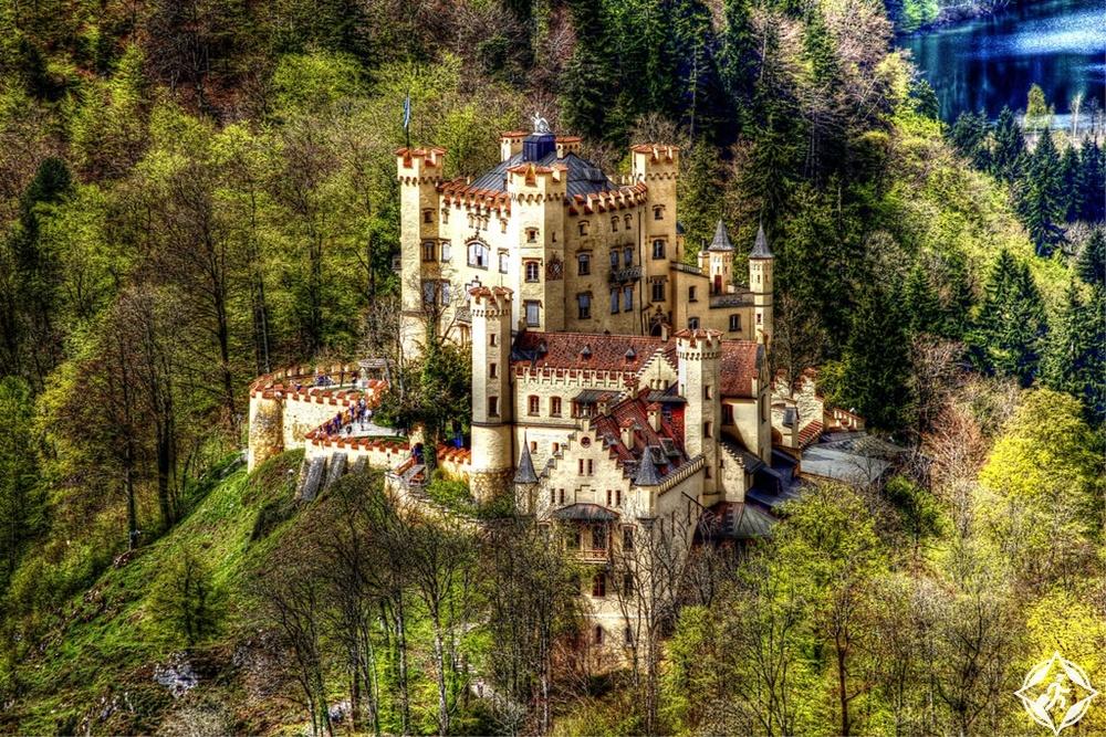 القلاع في ألمانيا - قلعة هوهينشوانجاو