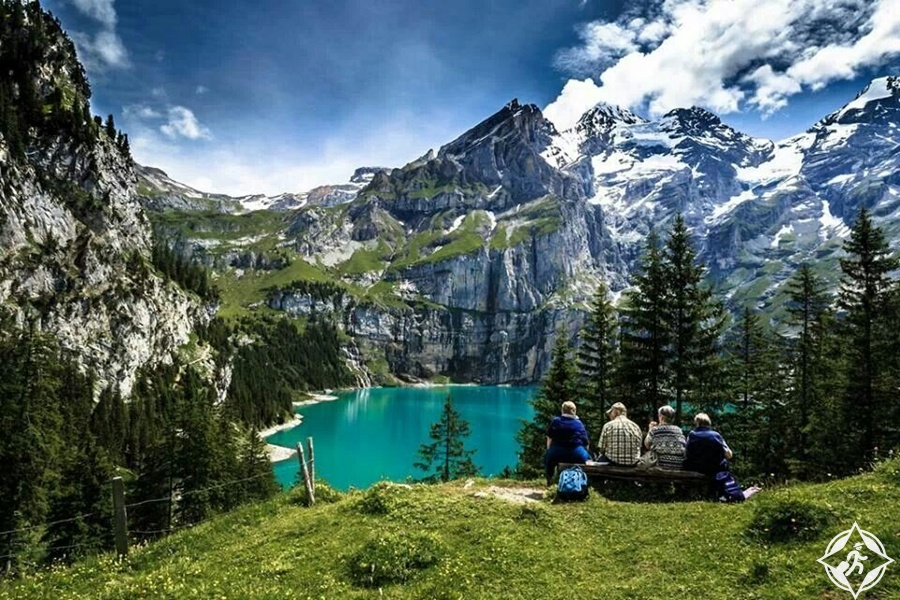 البحيرات في سويسرا - بحيرة أوشينين