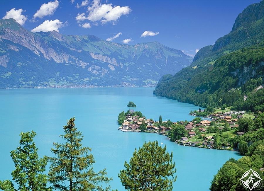 البحيرات في سويسرا - بحيرة برينز