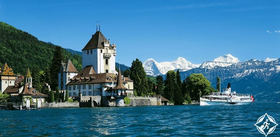البحيرات في سويسرا - بحيرة ثون
