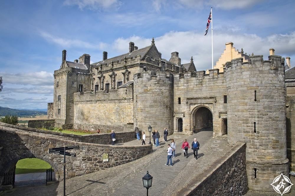 القلاع في اسكتلندا - قلعة ستيرلينغ